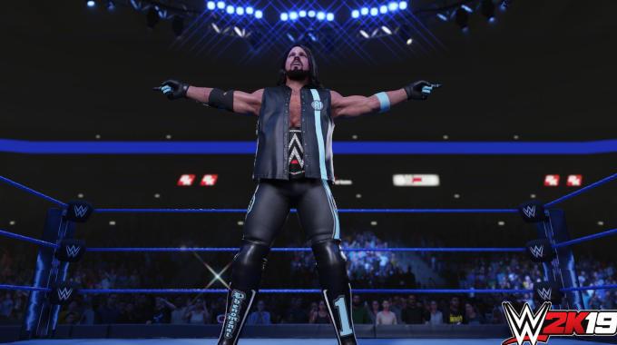 WWE 2K19 cracked