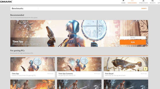 3DMark for free