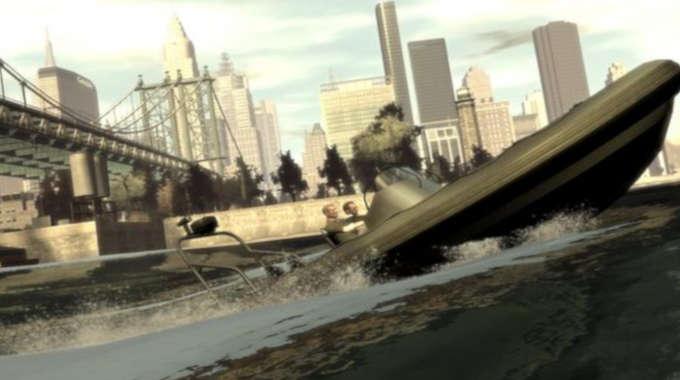 Grand Theft Auto IV cracked