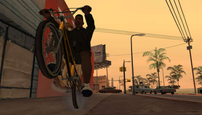 Grand Theft Auto San Andreas cracked