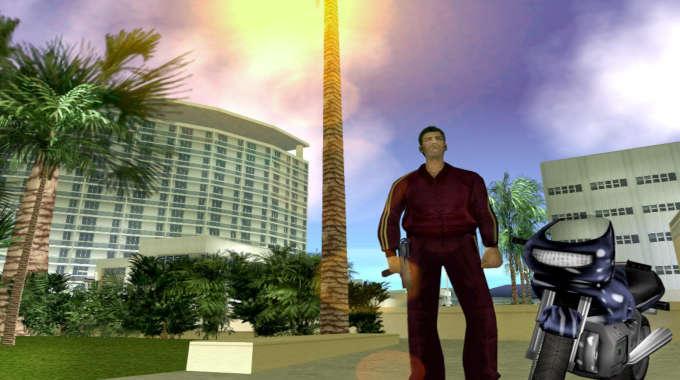 Grand Theft Auto Vice City cracked