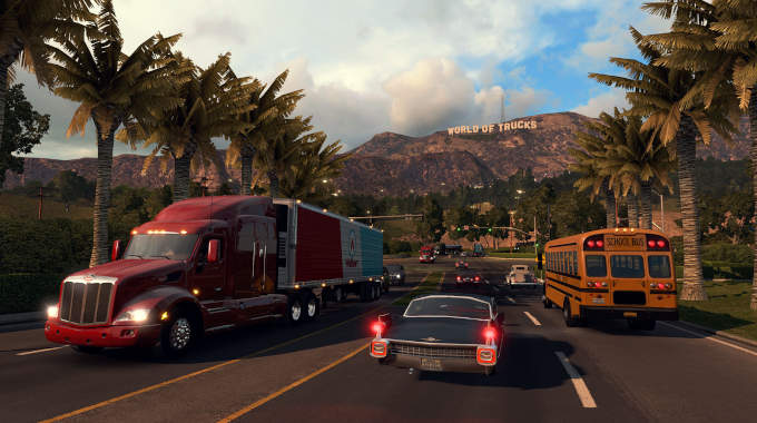 American Truck Simulator cracked