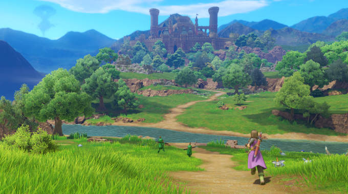 DRAGON QUEST XI Echoes of an Elusive Age cracked