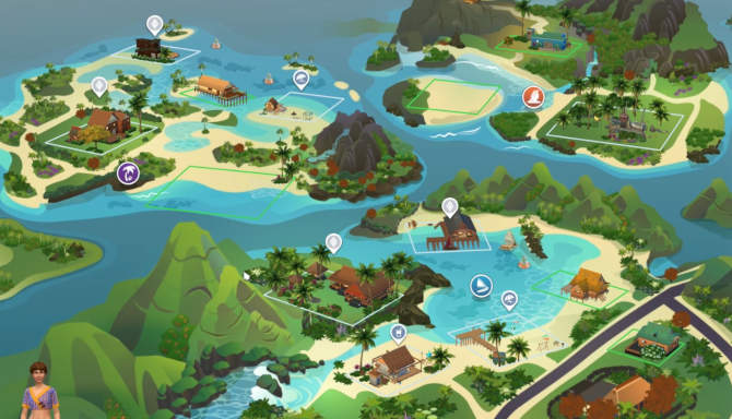 The Sims 4 Island Living cracked