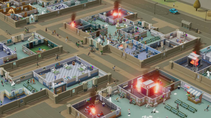 Two Point Hospital cracked