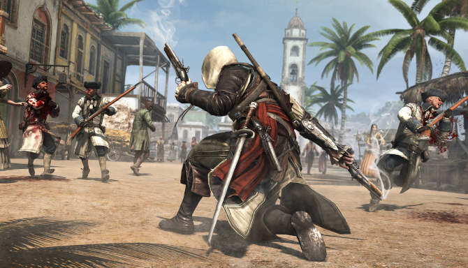 Assassin's Creed IV Black Flag cracked