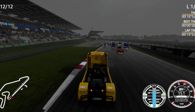 FIA European Truck Racing Championship cracked