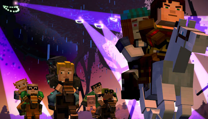 Minecraft Story Mode cracked
