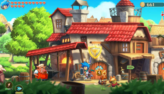 Monster Boy and the Cursed Kingdom for free