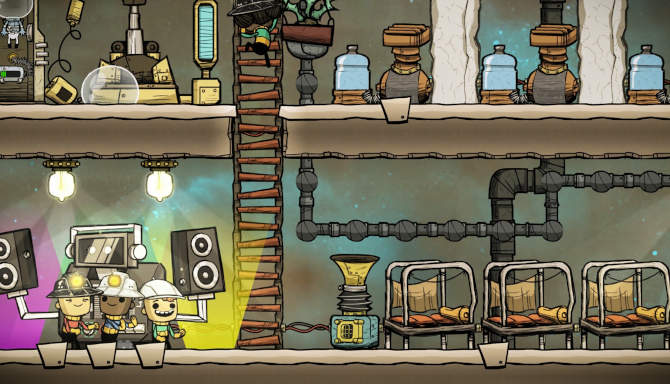 Oxygen Not Included cracked