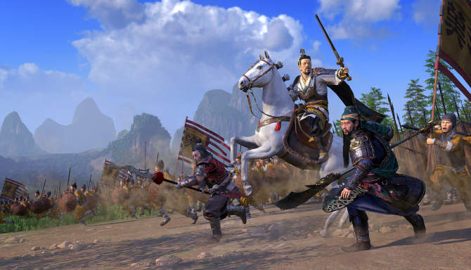 Total War THREE KINGDOMS for free