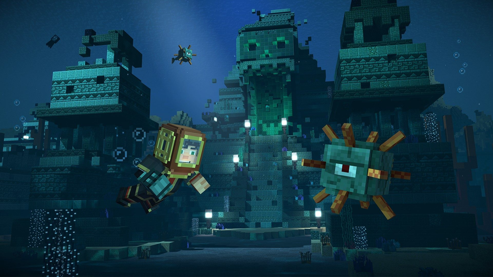minecraft story mode season two wallpaper 2