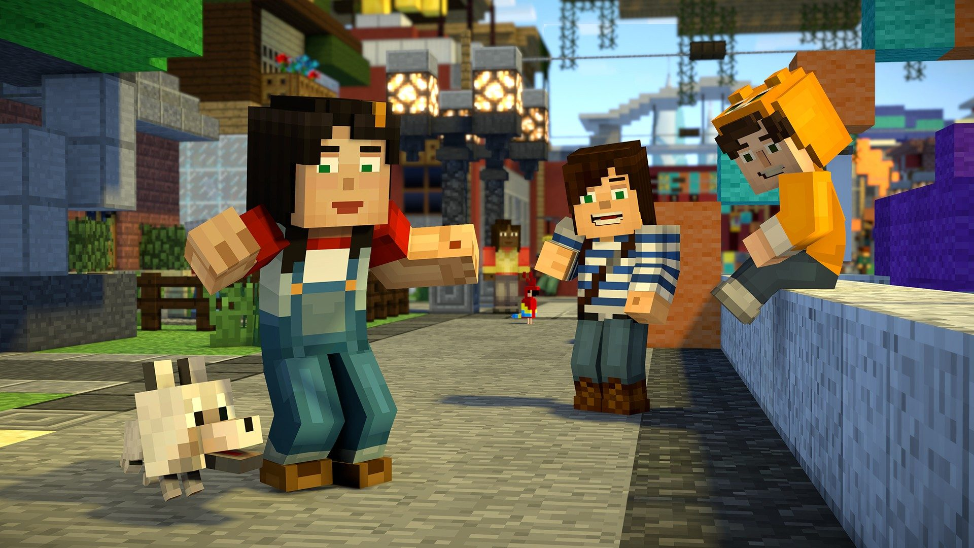 minecraft story mode season two wallpaper 3