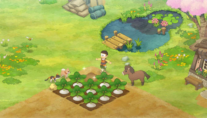 DORAEMON STORY OF SEASONS cracked