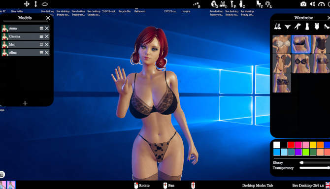 live Desktop Beauty for free