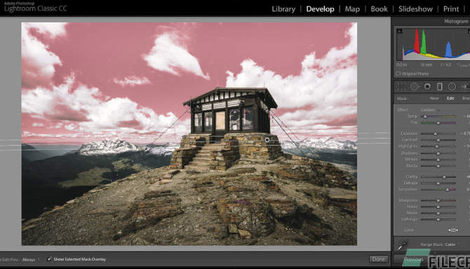 Adobe Lightroom Classic 2020 for free