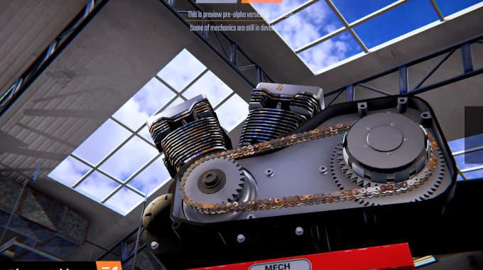 Biker Garage Mechanic Simulator cracked