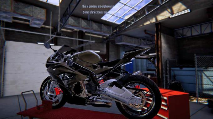 Biker Garage Mechanic Simulator for free