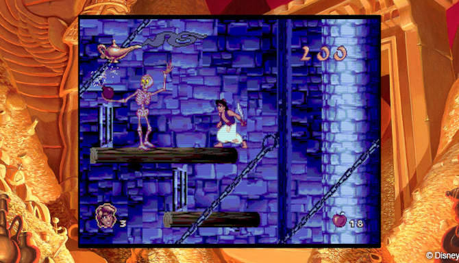 Disney Classic Games Aladdin and The Lion King cracked