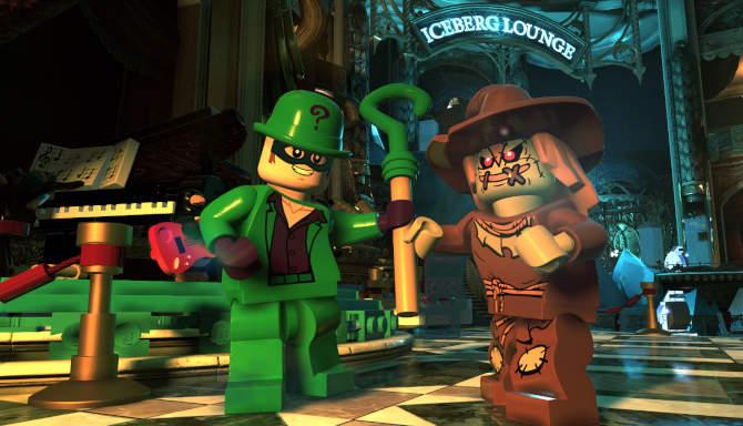 LEGO DC Super Villains cracked