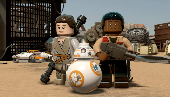 LEGO STAR WARS The Force Awakens cracked
