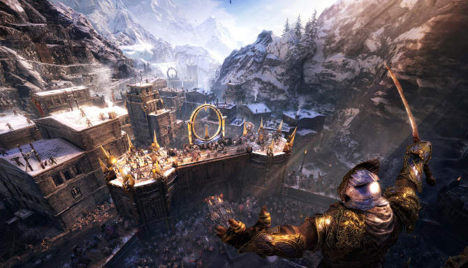 Middle earth Shadow of War for free