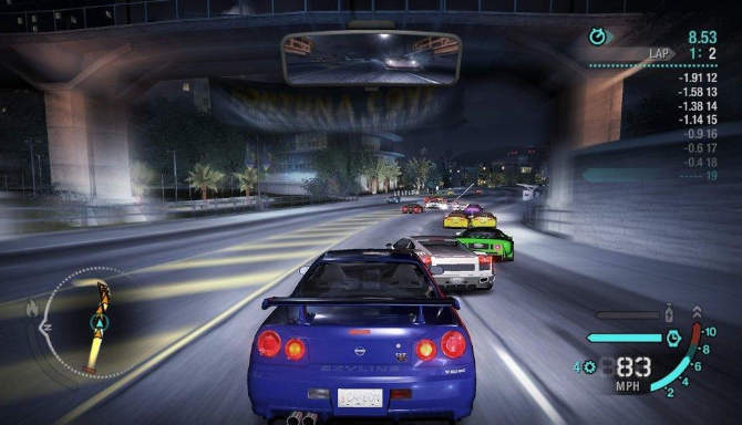 Need for Speed Carbon cracked