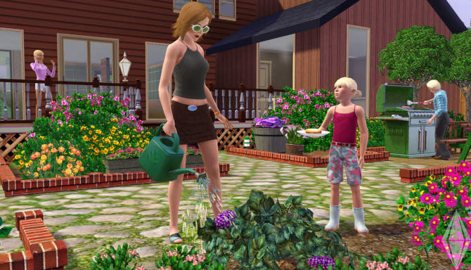 The Sims 3 cracked