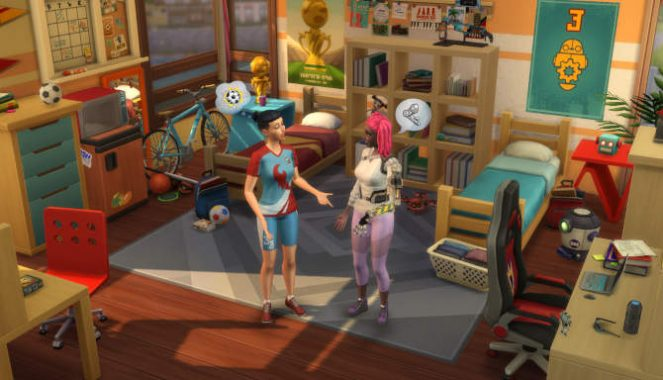 The Sims 4 Discover University for free