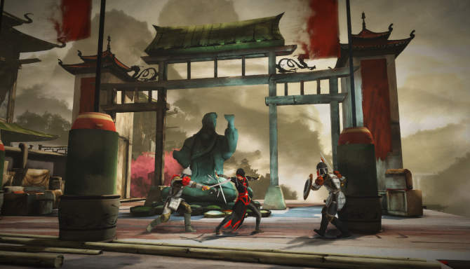 Assassin's Creed Chronicles China cracked