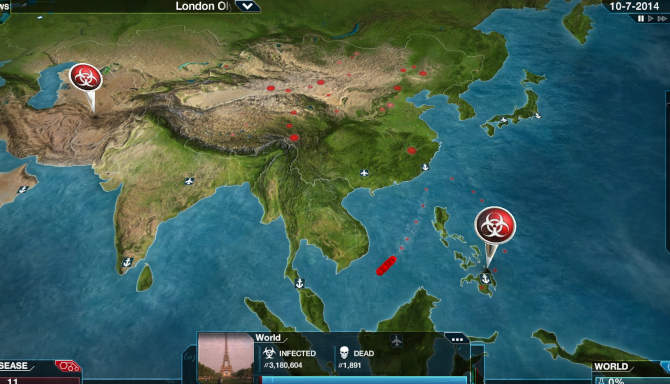 Plague Inc Evolved for free