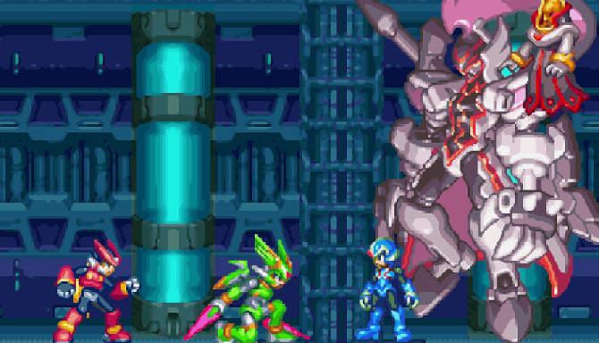 Mega Man Zero Legacy Collection cracked