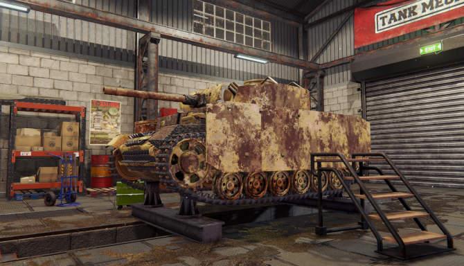 Tank Mechanic Simulator for free