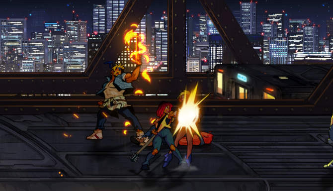 Streets of Rage 4 for free