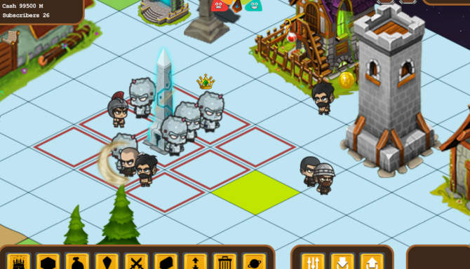 Fantasy World Online Tycoon for free
