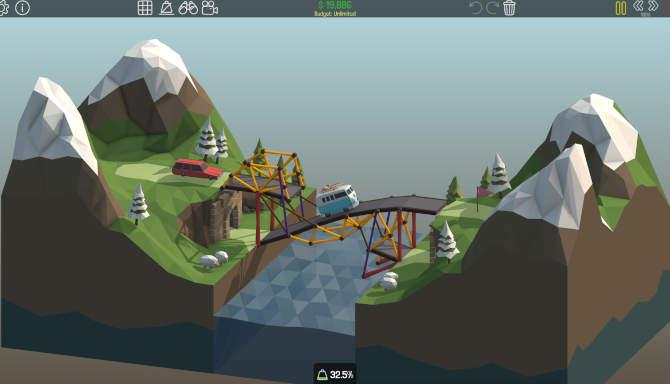 Poly Bridge for free