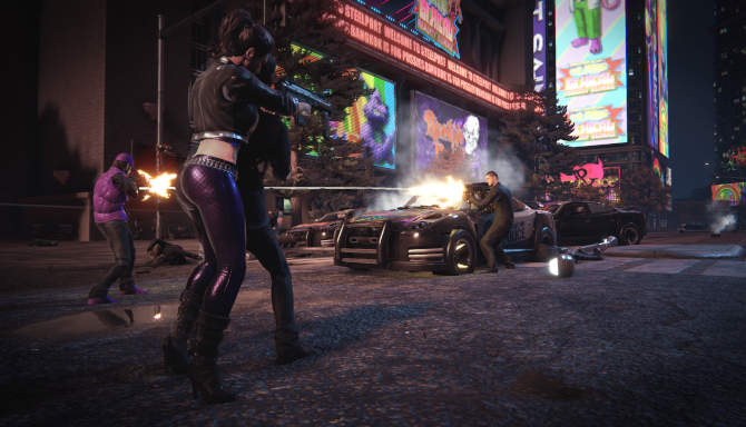 Saints Row The Third Remastered cracked