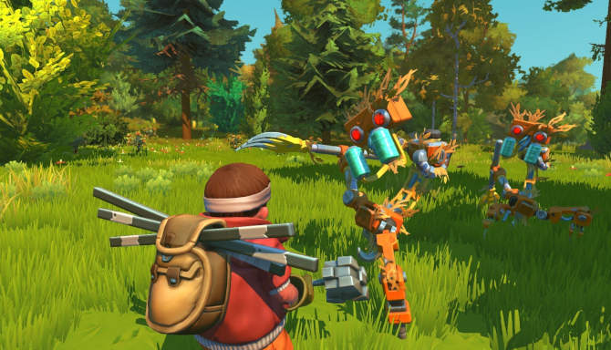 Scrap Mechanic for free