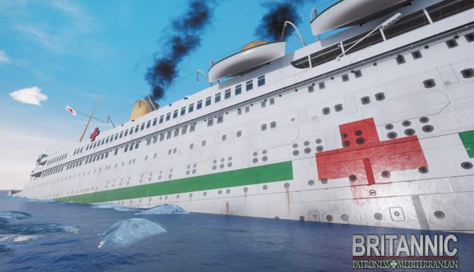 Britannic Patroness of the Mediterranean cracked