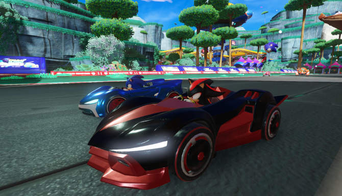 Team Sonic Racing cracked