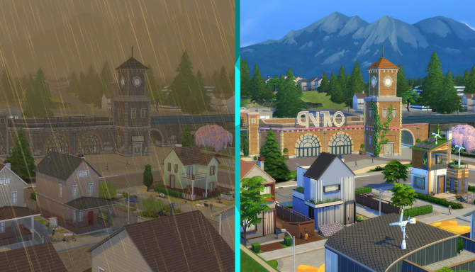 The Sims 4 Eco Lifestyle cracked