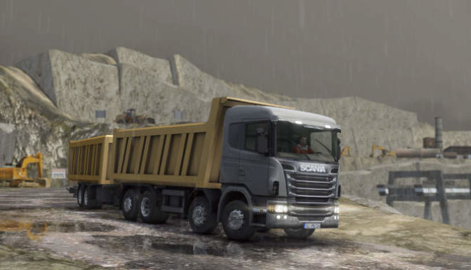 Truck and Logistics Simulator cracked