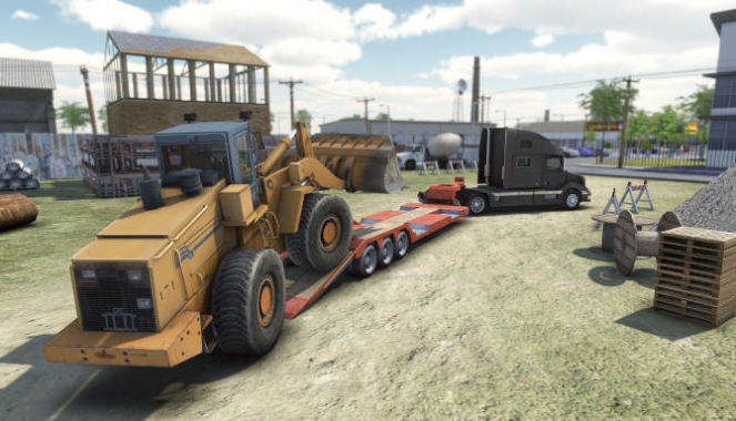 Truck and Logistics Simulator for free