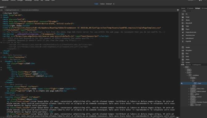 Adobe Dreamweaver 2020 for free