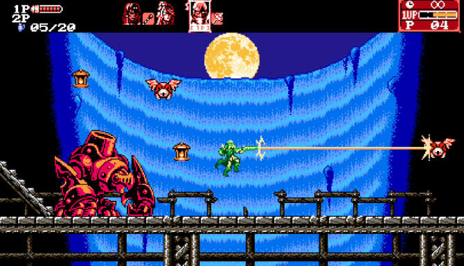 Bloodstained Curse of the Moon 2 cracked