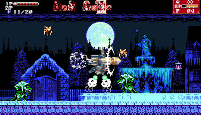 Bloodstained Curse of the Moon 2 for free
