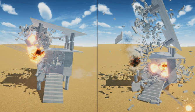 Destructive physics destruction simulator free download
