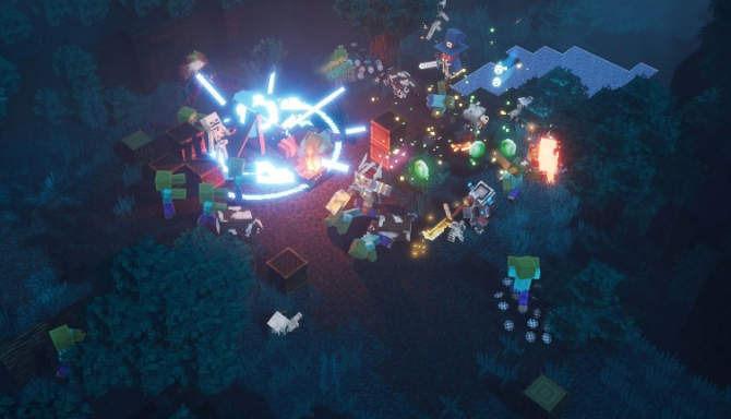 Minecraft Dungeons cracked