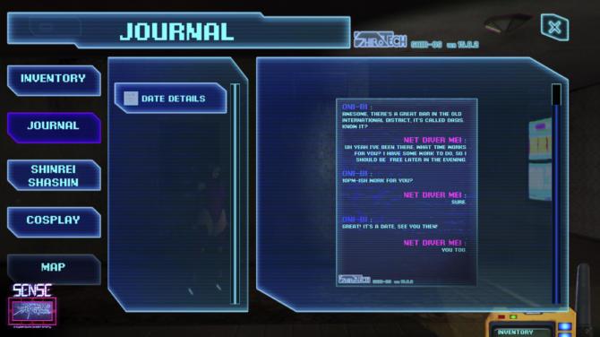 Sense A Cyberpunk Ghost Story cracked