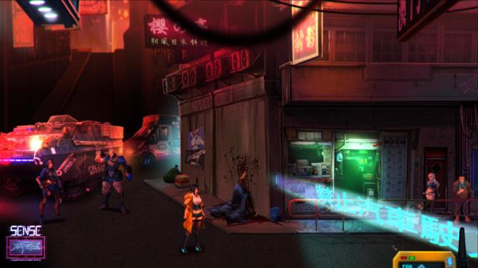 Sense A Cyberpunk Ghost Story free cracked